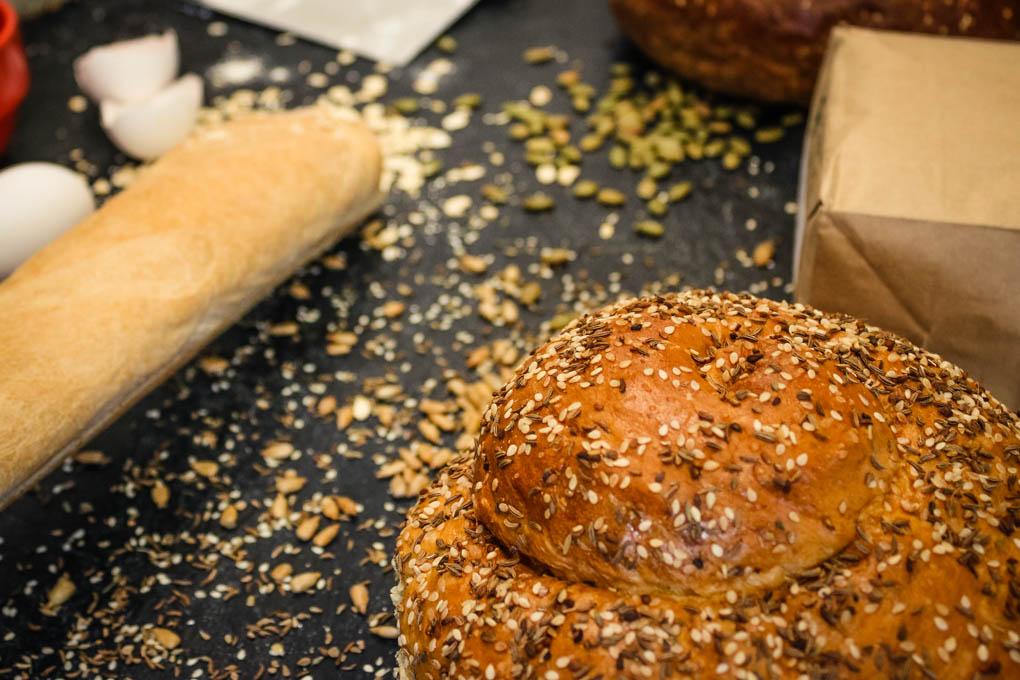 Artisan Bread baked daily ay Cafe Coco